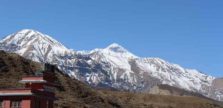 View from Muktinath Town