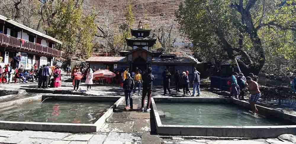 Muktinath Temple with Mukti Kund