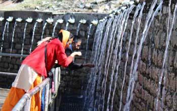 Muktinath Temple 108 Waterfalls