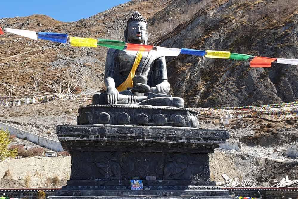 Buddha Statue in Muktinath Temple