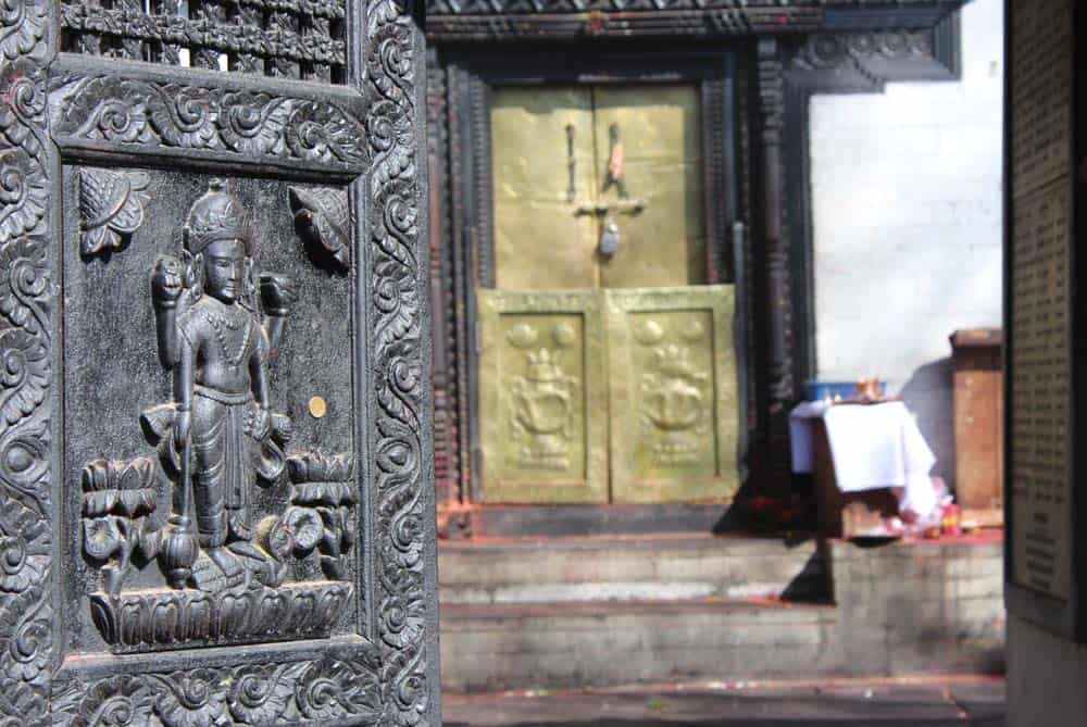 Entrance of the Muktinath Temple