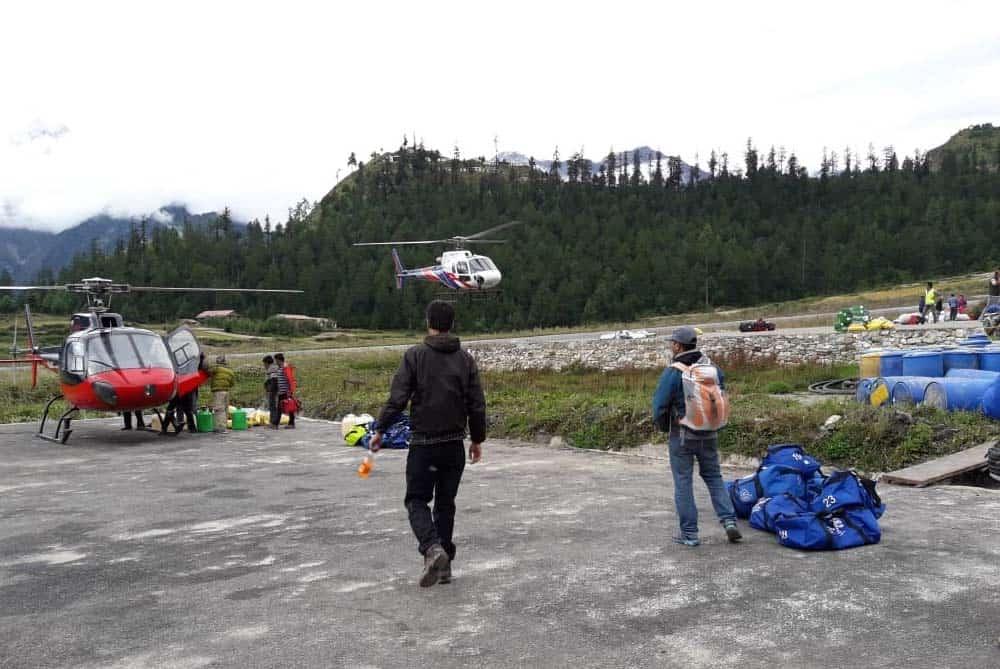 Kailash Manasarovar Yatra by Helicopter