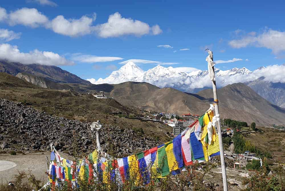 Magnificient View from the Muktinath Temple