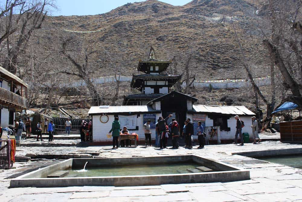 Muktinath Temple with Holy Mukti Kunda