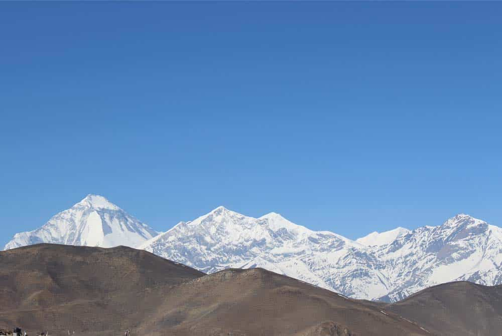 View From the Muktinath Temple