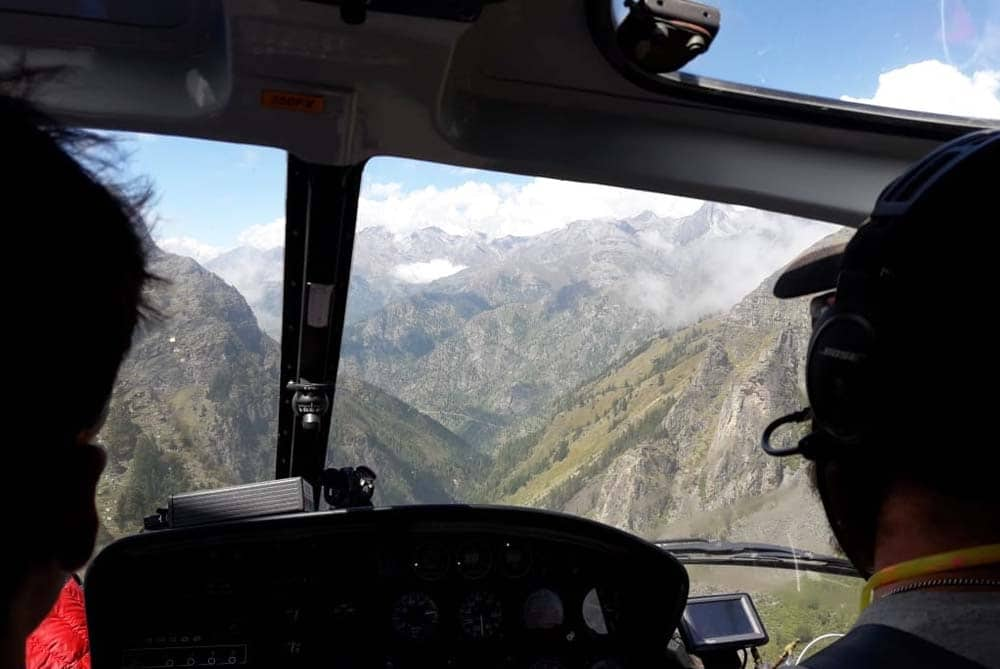 View From the Helicopter During Kailash Manasarovar Yatra by Helicopter